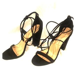 Charlotte Russe lace up heels